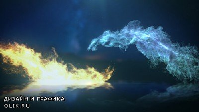 Ice And Fire Logo - Project for AFEFS (Videohive)