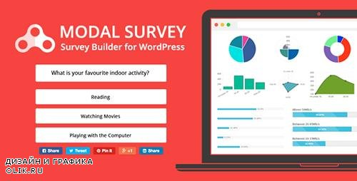 CodeCanyon - Modal Survey v1.9.8.1 - WordPress Poll, Survey & Quiz Plugin - 6533863