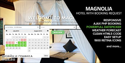 t - HOTEL MAGNOLIA v1.5 with Booking request - 8294014