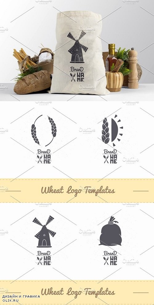 4 Wheat Flour Logos 1420320