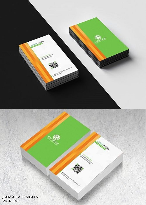 New Vertical Business Card 1489117