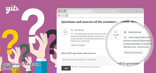 YiThemes - YITH WooCommerce Questions and Answers v1.1.24
