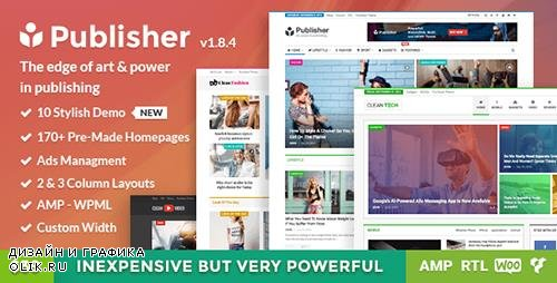 t - Publisher v1.8.4 - Magazine, Blog, Newspaper and Review WordPress Theme - 15801051 -