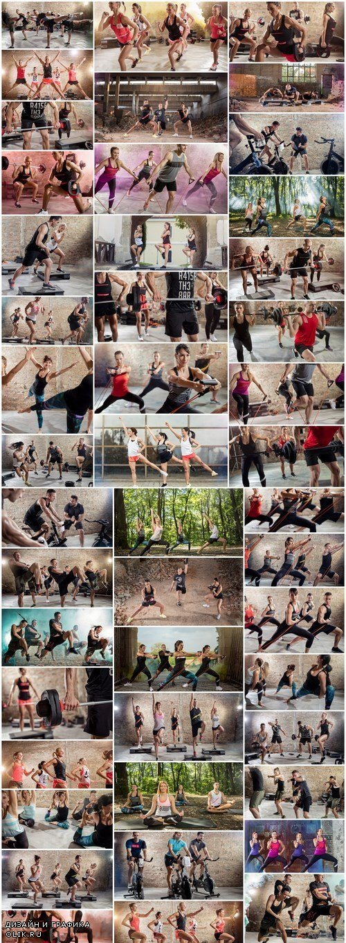 Sports trainings fitness life - 46xUHQ JPEG