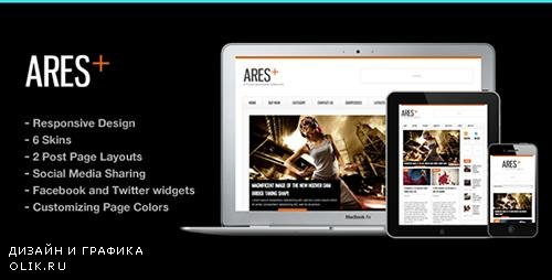 t - Ares v2.5 - Blog Magazine Newspaper Template - 918661