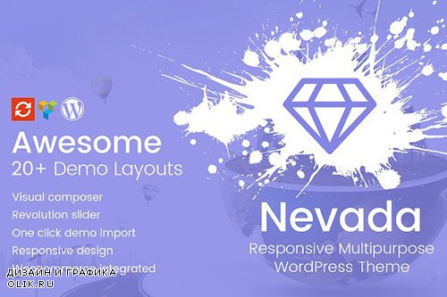 Nevada v1.0 - Responsive WordPress Theme - CM 1522463