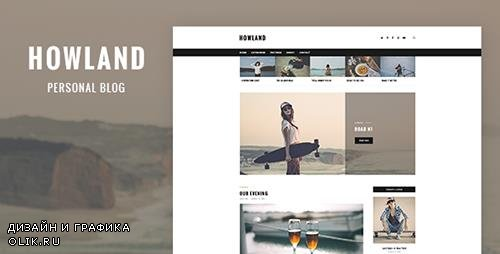 t - Howland v1.0 - Personal Blog PSD Template - 19563003