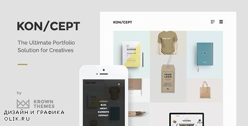 ThemeForest - KON/CEPT v1.7.8 - A Portfolio Theme for Creative People - 9213287