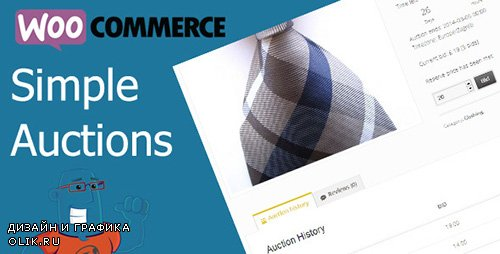 CodeCanyon - WooCommerce Simple Auctions v1.2.11 - Wordpress Auctions - 6811382