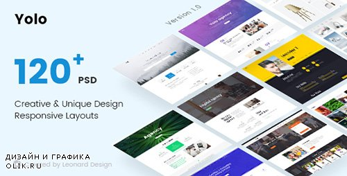 ThemeForest - Yolo v1.0 - Responsive Multi-Purpose PSD Template - 20058710
