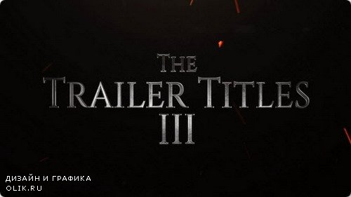 The Trailer Titles III - AFEFS Template