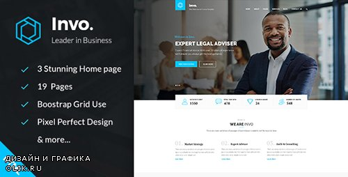 ThemeForest - Invo v1.0 - Business training Consulting HTML Template - 20014449