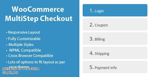 CodeCanyon - WooCommerce MultiStep Checkout Wizard v2.6 - 8125187