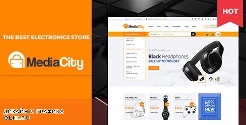 ThemeForest - MediaCity v1.0 - Technology Responsive Magento Theme - 20193009