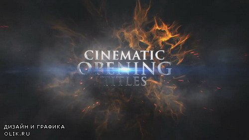 Cinematic Opening Titles - AFEFS Template