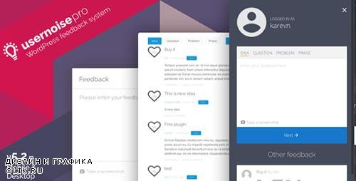 CodeCanyon - Usernoise Pro Modal Feedback & Contact form v5.2.4 - 1420436