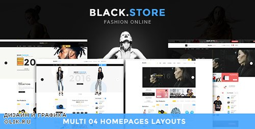 ThemeForest - Ves Blackstore v1.0 - Magento 2 Template With Pages Builder - 19136258
