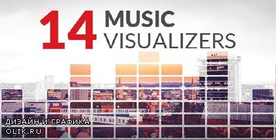 14 Music Visualizers - Project for AFEFS (Videohive)