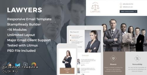 ThemeForest - Lawyers v1.0 - Responsive Email Template - 19120433
