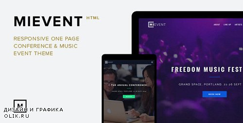 ThemeForest - MiEvent - Responsive Parallax Event & Music Theme (Update: 31 December 15) - 8913949