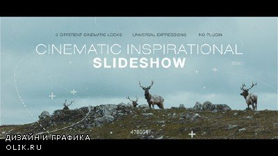 Cinematic Inspirational Slideshow | Opener - Project for AFEFS (Videohive)
