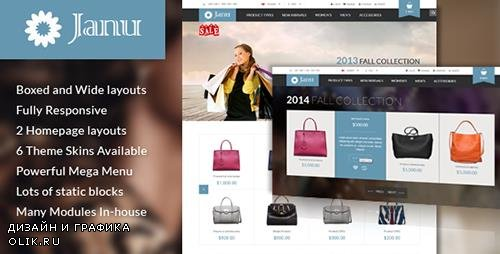 ThemeForest - Janu v1.1.0 - Responsive Multipurpose Magento Theme - 7512942