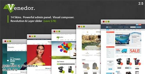 ThemeForest - Venedor v2.5.5 - WordPress + WooCommerce Theme - 7807674