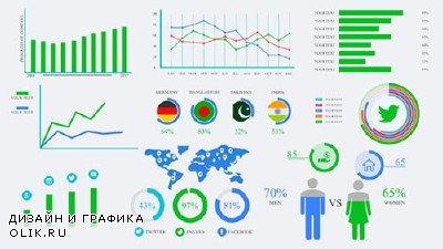 Mega Infographics Pack - Project for AFEFS (Videohive)
