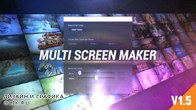 Multi Video Screen Maker Auto - Project for AFEFS (Videohive)