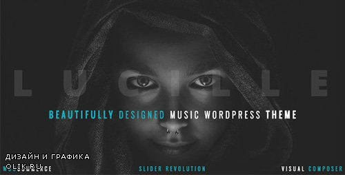ThemeForest - Lucille v2.0 - Music WordPress Theme - 19078867