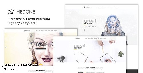 ThemeForest - Hedone - Creative Clean Portfolio Agency Template (Update: 5 March 17) - 19451908
