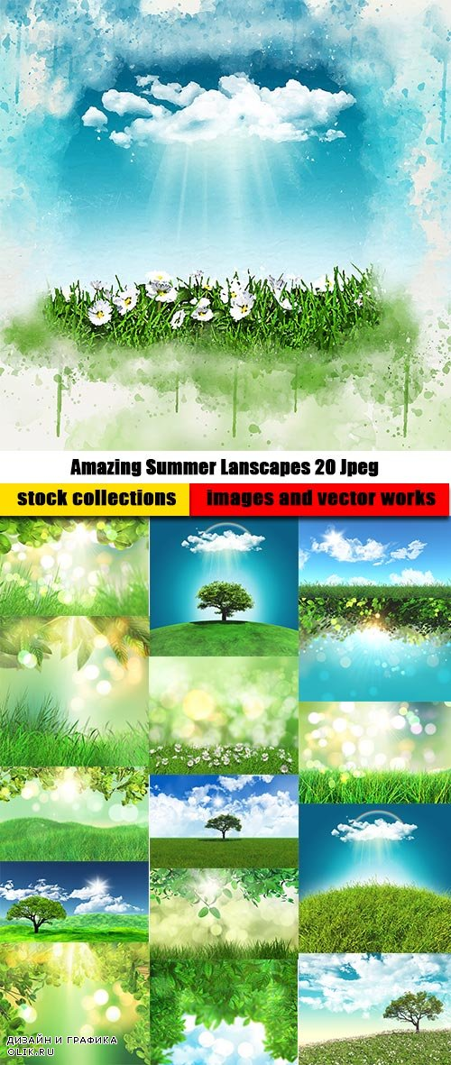 Amazing Summer Lanscapes 20 Jpeg