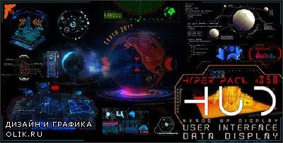 HUD Hyper Pack 350 - Project for AFEFS (Videohive)