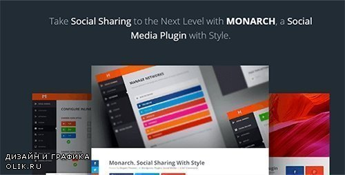 ElegantThemes - Monarch v1.3.14 - A Better Social Sharing Plugin For WordPress