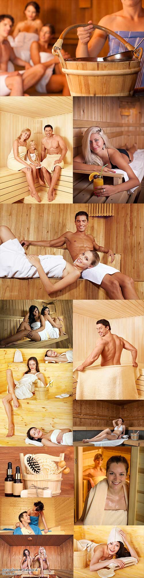 Sauna raster graphics