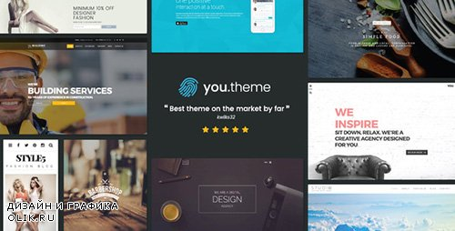 ThemeForest - You v1.5.1 - Multi-Purpose Responsive WordPress Theme - 15175900