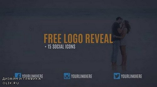 Logo Reveal + 15 Social Icons Animation - Project for AFEFS