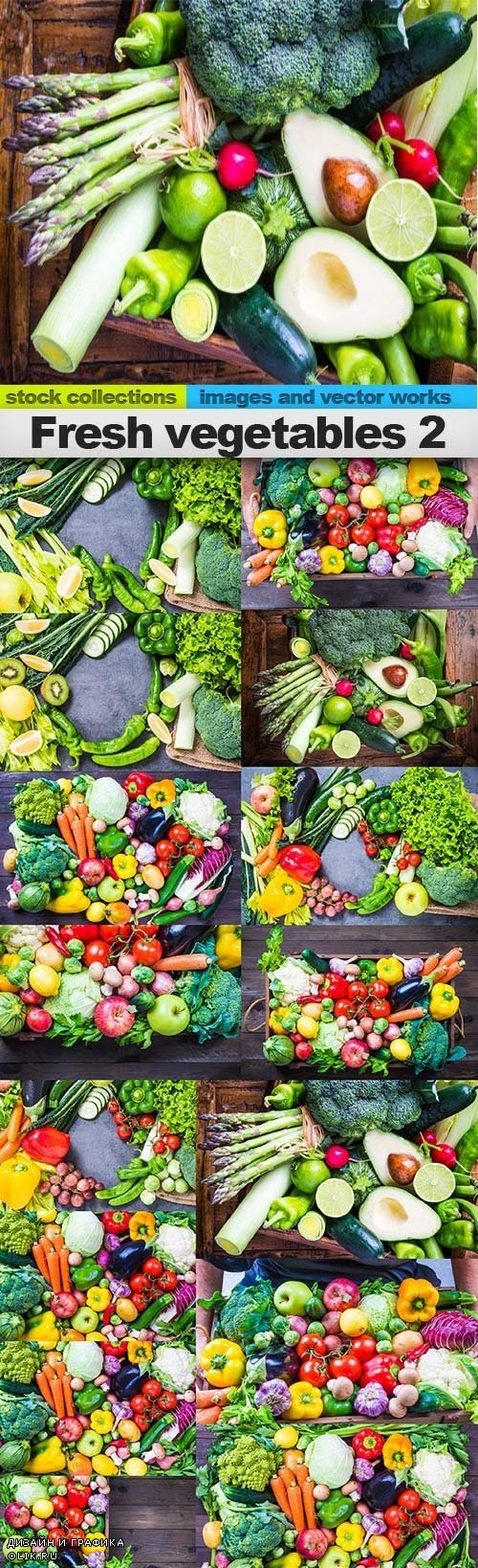 Fresh vegetables 2, 15 x UHQ JPEG