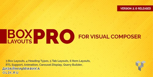 CodeCanyon - Pro Box Layout for Visual Composer v2.0 - Displaying Post & Custom Post in a News & Magazine Style - 14530633