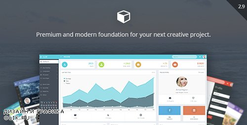 ThemeForest - AppUI v2.9 - Web App Bootstrap Admin Template - 8603616