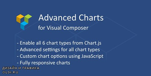 CodeCanyon - Advanced Charts Add-on for Visual Composer v1.1.2 - 19237508