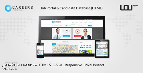 ThemeForest - CAREERS - Job Portal Candidate Database (HTML) (Update: 11 June 14) - 6184051