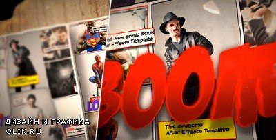 Comic Book Template - Project for AFEFS (Videohive)