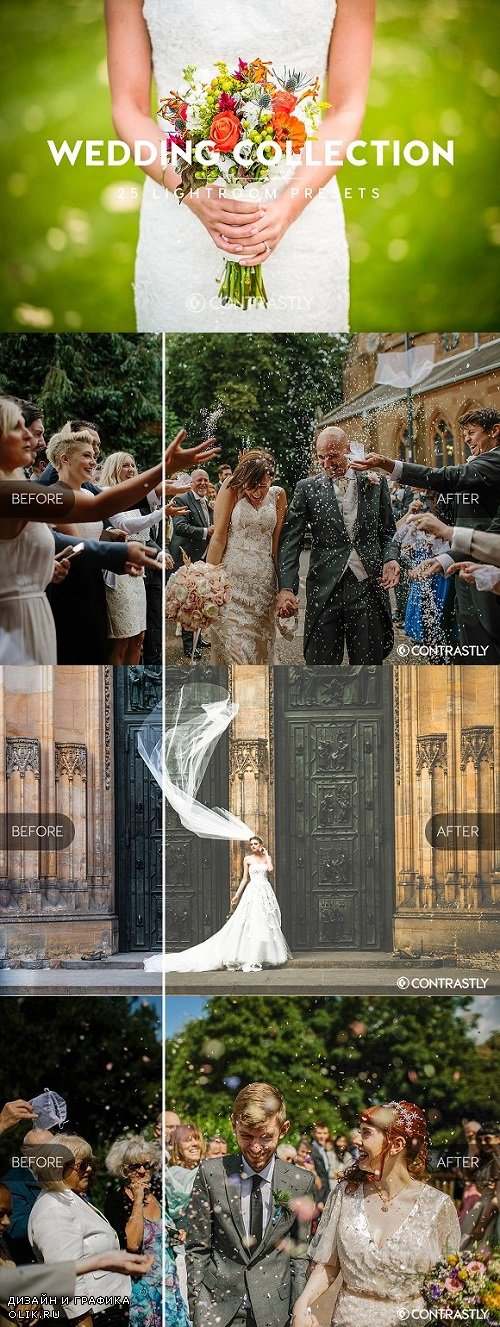Wedding Collection Lightroom Presets - 1641097