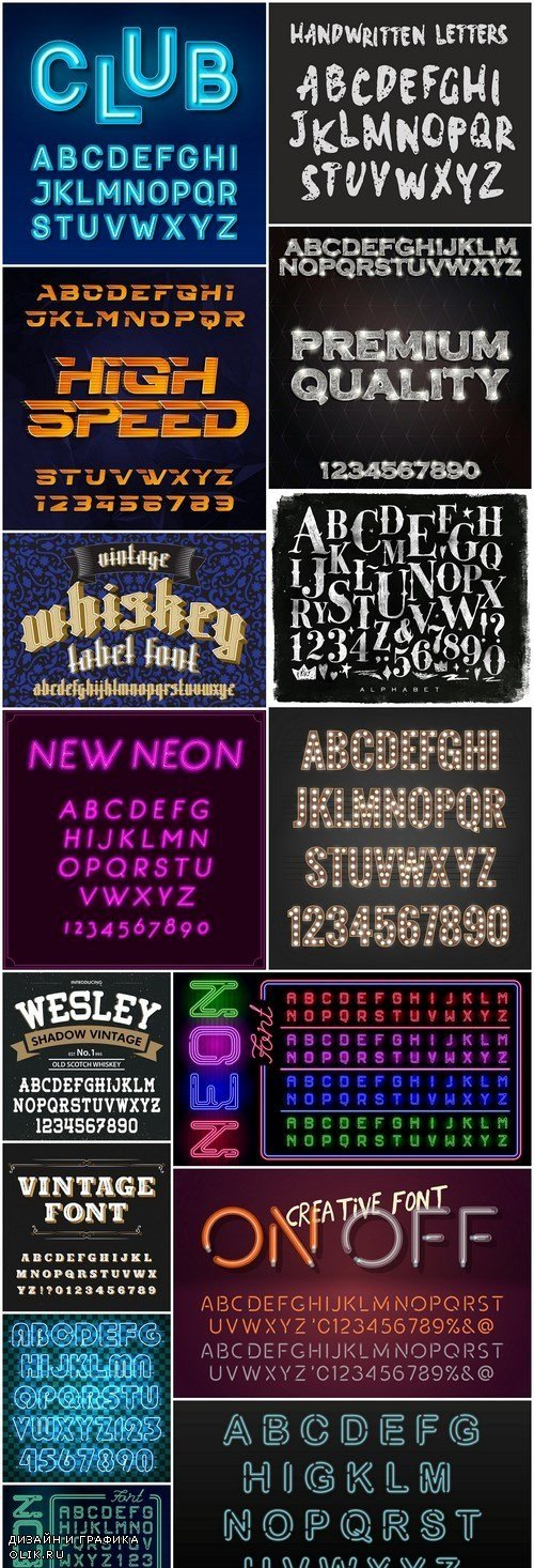 Amazing Font Collection