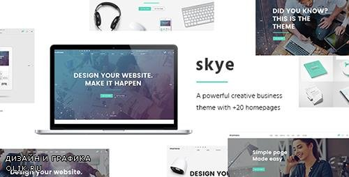 ThemeForest - Skye v1.5 - A Contemporary Theme for Creative Business - 14806142