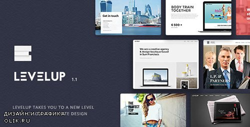 - LEVELUP v1.1.14 - Responsive Creative Multipurpose WordPress Theme - 15896734