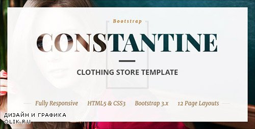 - Constantine v1.0 - Fashion Clothes Shop HTML Template - 15078085