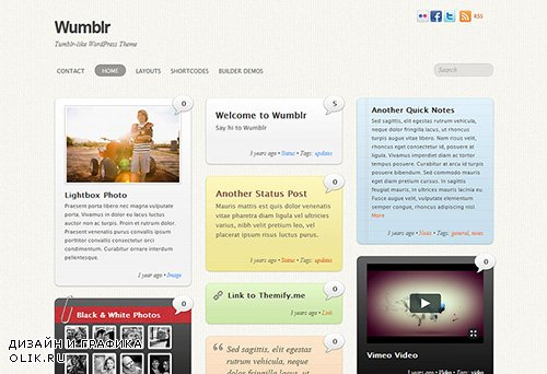 Themify - Wumblr v2.1.6 - WordPress Theme