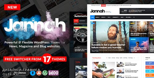 ThemeForest - Jannah v1.1.1 - WordPress News Magazine Blog & BuddyPress Theme - 19659555 -
